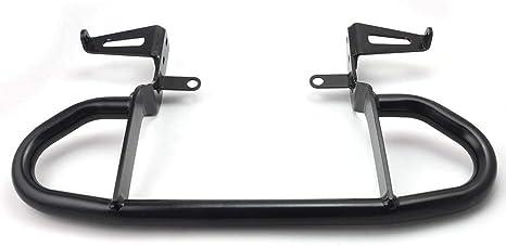 New Useful Free E-Book Quality for Yamaha YFZ 450 Grab Bar 04-13 Rear Bumper Black Aluminum