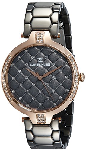 Daniel Klein Analog Grey Dial Women's Watch-DK11324-1