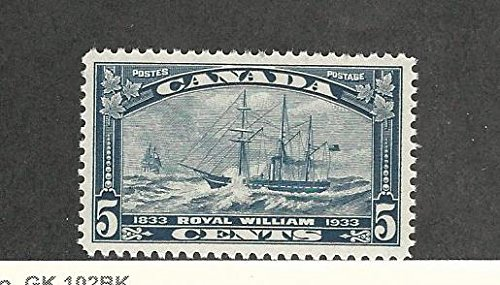 Canada, Postage Stamp, 204 Mint NH, 1933 Ship