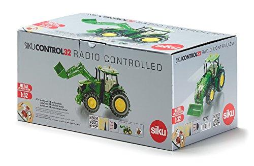 1:32 R/c John Deere 7r W/front Loader & Remote Control