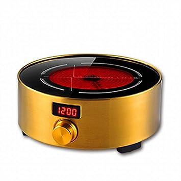 CN Estufa de té de cerámica eléctrica Onda de luz silenciosa Mini pequeña Tetera de cocción
