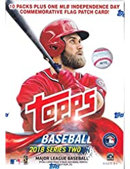 Topps Baseball 2018 Series 2 Mass Value Box