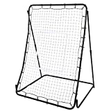 Meflying 44 x 64inch Multi-Sport Rebounder Pitch Back Screen with with Adjustable Target, Baseball Trainer for Throwing, Pitching, and Fielding
