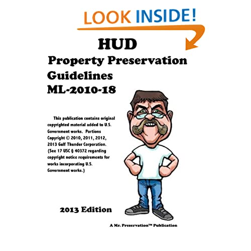 HUD Property Preservation Guidelines Terry Platt