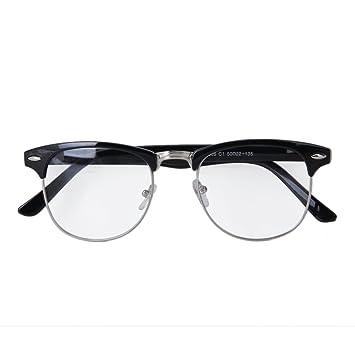 ddba92e6b861 Retro Clear Lens Square Sunglasses Metal Frame Eyeglasses Fashion Glasses   Amazon.ca  Tools   Home Improvement