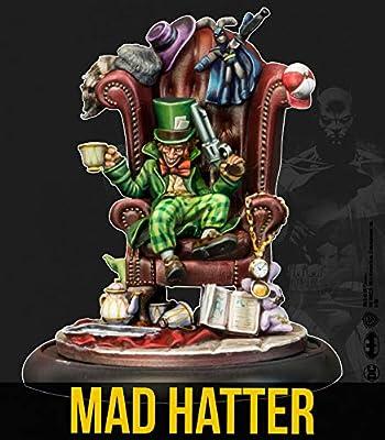 Knight Models Juego de Mesa - Miniaturas Resina DC Comics Superheroe - Batman- Mad Hatter: Amazon.es: Juguetes y juegos