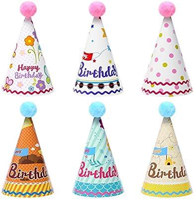 Toyvian Sombrero del Cono del cumpleaños de los Sombreros ...