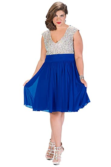 Ab Rhinestone Plus Size Bridesmaid Dress Black Red Or Blue Skirt At