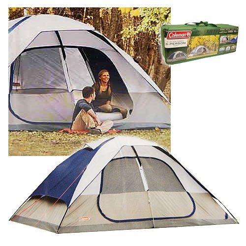 Coleman-2000006233-Glacier-Creek-14-x-10-8-  sc 1 st  C&ing Equipment u0026 Supply & Coleman 2000006233 Glacier Creek 14u0027 x 10u0027 8 Person 2 Room Camping ...
