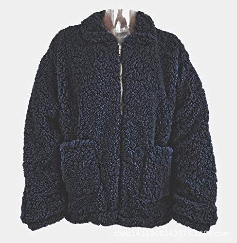 Femme Lavée Femme D'hiver Liuxc D'automne Chaude Confortable Pour Et Veste Vêtements Décontractée Femmes vw7xSU1