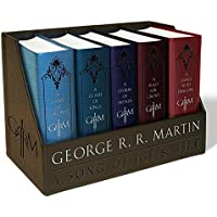 Game of Thrones Leather-Cloth Boxed Set (Song of Ice and Fire Series) by George R R Martin (Paperback)
