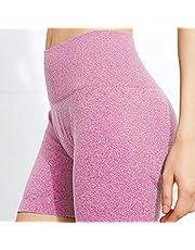 DDL Deporte Polainas Opaco Deportes Pantalones Pantalones de Yoga de la Yoga Gimnasia Motorista Entrenamiento de Alta Cortocircuitos de la Cintura del chándal de Deportes Persit Mujeres,S