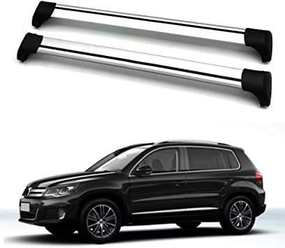 Chebay Fits for Mitsubishi Eclipse Cross 2018 Crossbar Cross bar Roof Rail Rack
