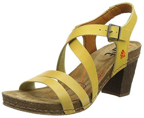 Art I Meet Strap - Sandalias para mujeres Amarillo (Sun)