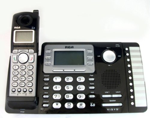 Rca 25212 2-Line Expandable Cordless Phone With Caller Id by RCA