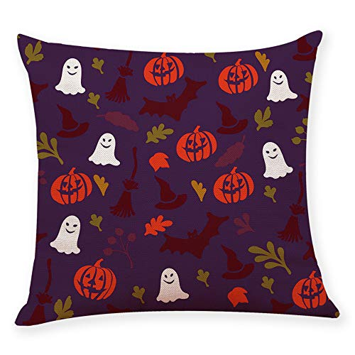 GOVOW Throw Pillows for Couch Clearance Home Decor Cushion Cover Halloween Pillowcase Covers for $<!--$2.06-->