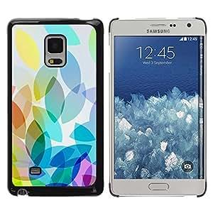 Paccase / SLIM PC / Aliminium Casa Carcasa Funda Case Cover - Apple Colorful Light Bright White - Samsung Galaxy Mega 5.8 9150 9152