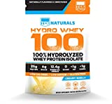 Hydro Whey 100™ (Vanilla) – 100% Whey Protein Hydrolysate Powder – 30 Day Supply – BEST Tasting & #1 Rated Review