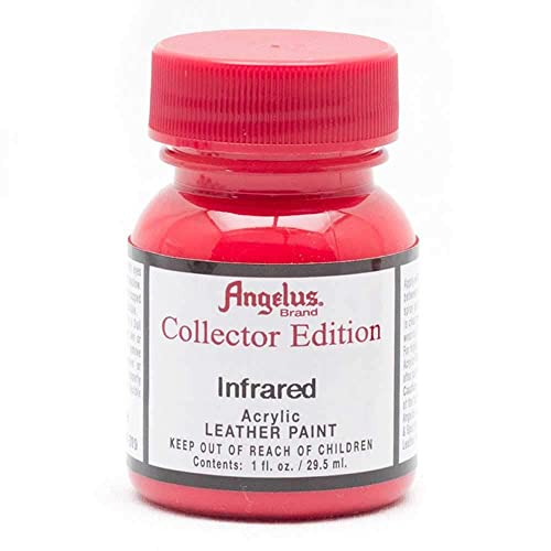 2d161d5f5da Amazon.com: Angelus Collector Leather Paint 1 Oz Infrared