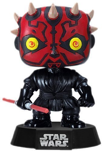 Funko POP 3 3/4 Inch Star Wars Darth Maul Action Figure Dolls Toys by Funko POP T