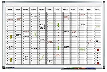 Legamaster PREMIUM year planner vertical - Accesorio de ...