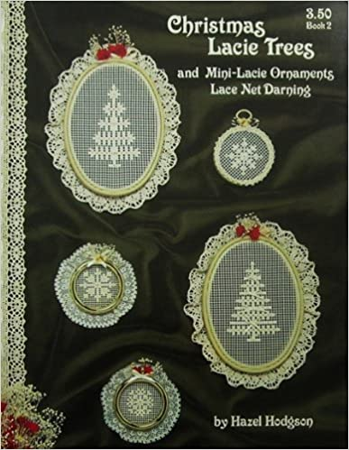 Christmas Lacie Trees and Mini-Lacie Ornaments Lace Net