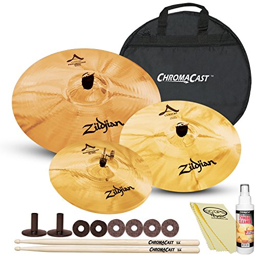 Zildjian A Custom Artist Cymbal Pack with ChromaCast Cymbal