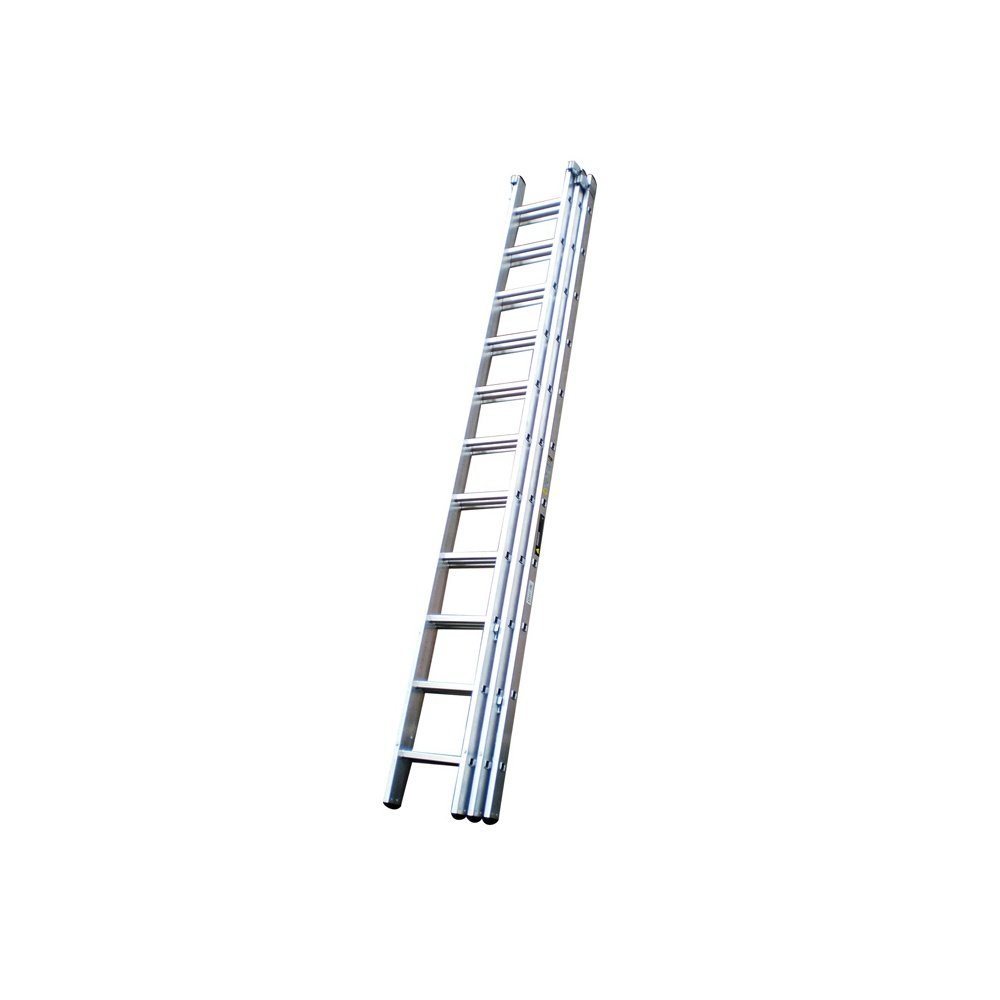 Youngman Trade 200 (3.1m - 7.4m) Triple Aluminium Extension Ladder 10 Rung 3 Section Tradex Tools Ltd Special Offer TTAM570122