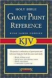 Giant Print Reference Bible-KJV, , 1598560921