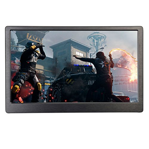 "cocopar13.3""IPS HD Gaming Monitor1920X1080 Portable Monitor with HDMI, VGA input, Ultralight Weight, built-in Speakers, 1cm"