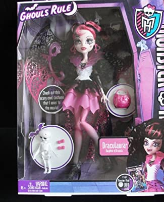 Monster High Ghouls Rule Draculaura Doll from Mattel