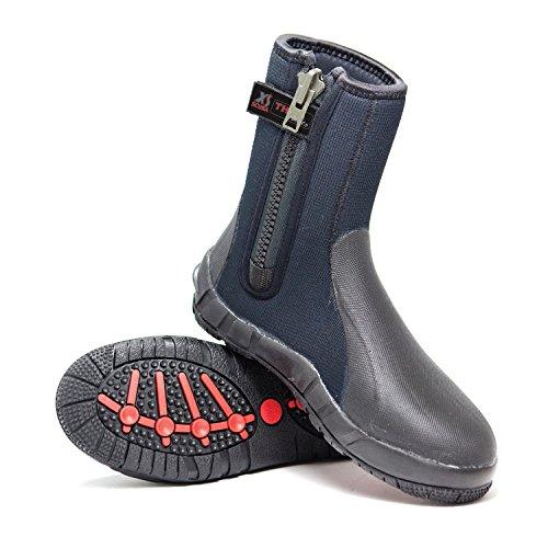 XS Scuba Thug 8mm Zippered Boots