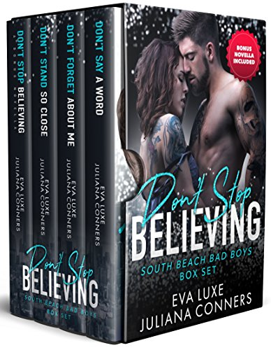 Don't Stop Believing: Complete South Beach Bad Boys Series Box Set Romance Collection cover
