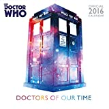 The Official Doctor Who Classic Edition 2016 Square Calendar