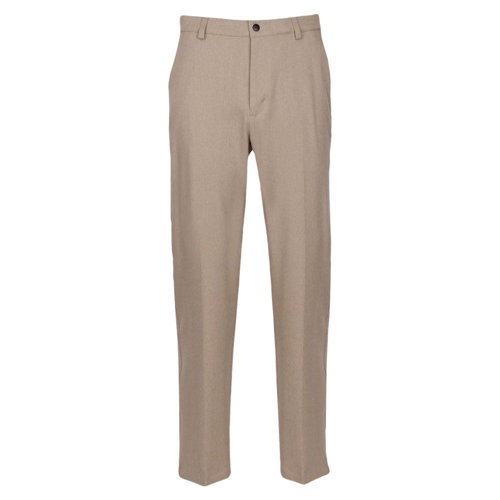 Greg Norman Men's Classic Pro-fit Pant, Bamboo Heather, W: 35'' x L: 30'' by Greg Norman