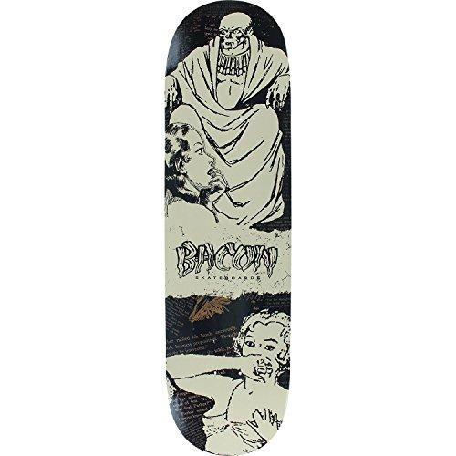 最大シンプトン買い手BACON スパイシー アドベンチャー デッキ - 8.25 Lord Of Death - 完全なスケートボードとして組み立て