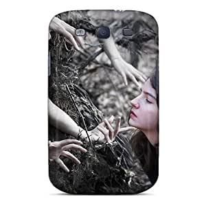Galaxy Case - Tpu Case Protective For Galaxy S3- Hands Abstract