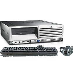 HP Compaq DC7600 Intel Pentium 4 3000 MHz 40Gig Serial ATA HDD 1024mb DDR2 Memory DVD ROM Genuine Windows 7 Home Premium 32 Bit Desktop PC Computer Professionally Refurbished by a Microsoft Authorized Refurbisher