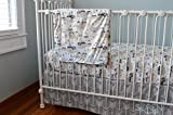 Soren by Angelique Navy Teepee 3-Piece Crib Bedding Set