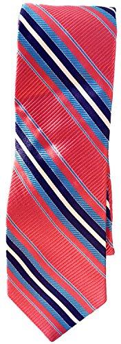 Ted Baker Neckties (Men's Ted Baker London Stripes Design Silk Tie, Size Regular 3T971501- Coral Pink)