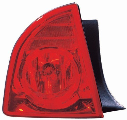 Chevy Malibu LS, LT Replacement Tail Light Assembly Outer - Driver Side