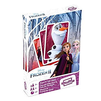 Cartamundi Frozen 2 Pairs and Old Maid Playing Cards: Toys & Games