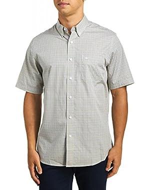 Men's Short Sleeve No Wrinkle Shirt