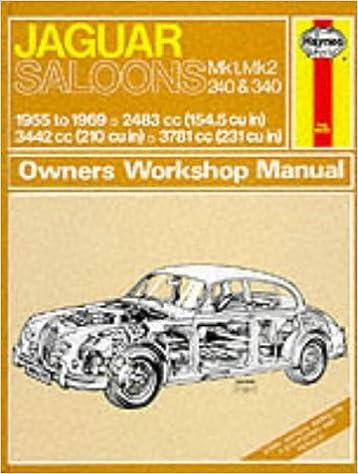 Classic Jaguar Workshop Manuals Car Manuals & Literature Vehicle Parts & Accessories