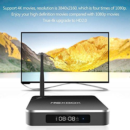 Smart TV Box Android 5.1 RK3368 Octa-Core XBMC UHD 4K 2G/16G Mini PC 1000M LAN 2.4G&5.0G WiFi H.265 DLNA Miracast Set top Box
