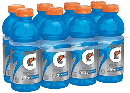 Gatorade Thirst Quencher Fierce, Blue Cherry, 20 Ounce (8 - Beverage 20 Ounce
