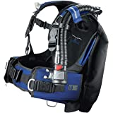 ScubaPro Ladyhawk Womens Scuba Diving BCD w/AIR2 (Medium, Blue)