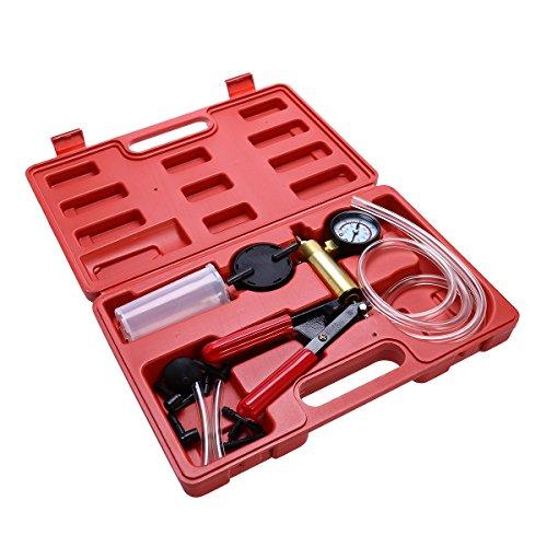 WINOMO Auto Brake Fluid Bleeder Hand Held Vacuum Pistol Pump Tester Kit for Car Truck by WINOMO (Image #6)