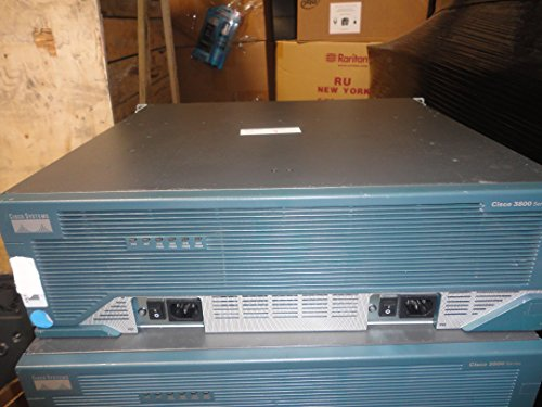 - Cisco 3845 3800 Series Router w/ Cisco3845-MB, Cisco NM-16A 16-Port Async Network & 3x WIC 2T Interface Module