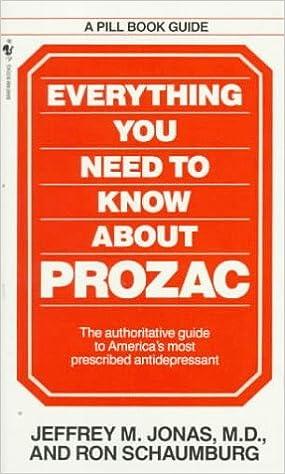 Contraversy over prozac
